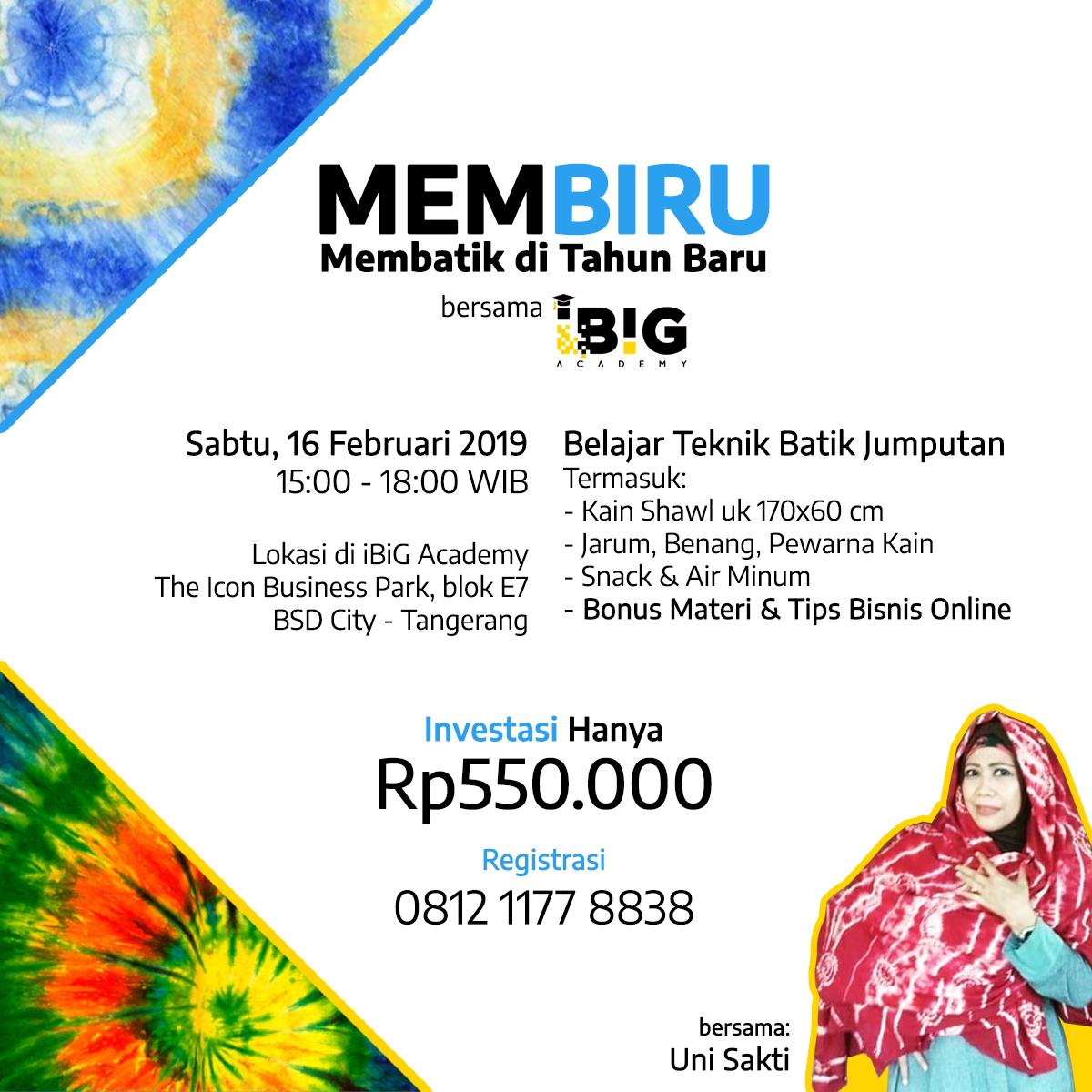 Batik Jumputan Februari